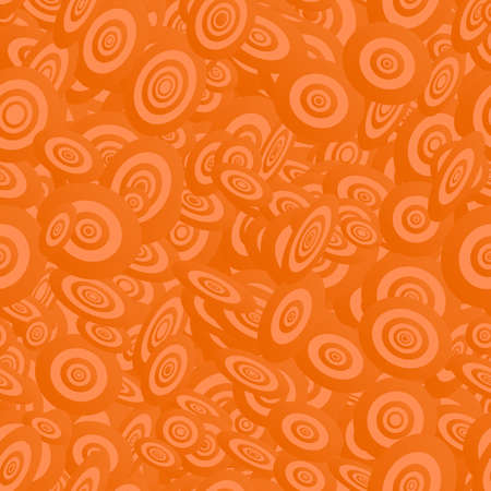 elipse: Naranja sin patr�n elipse dise�o de vectores de fondo