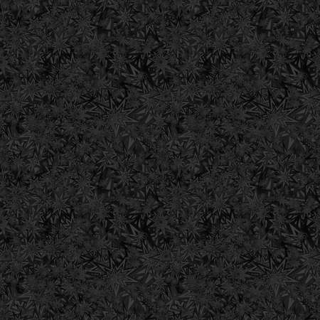 grey abstract background: Black seamless star pattern design vector background