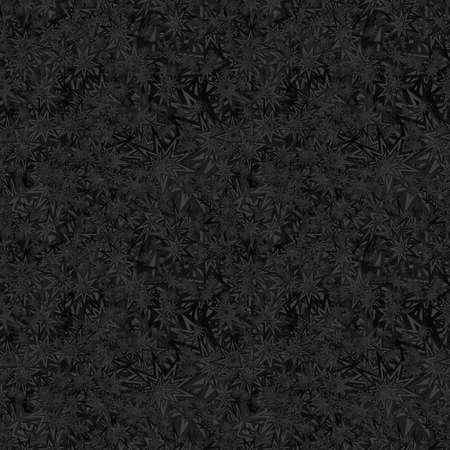 star pattern: Black seamless star pattern design vector background