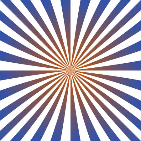 hypnotise: Blue and red ray burst design background