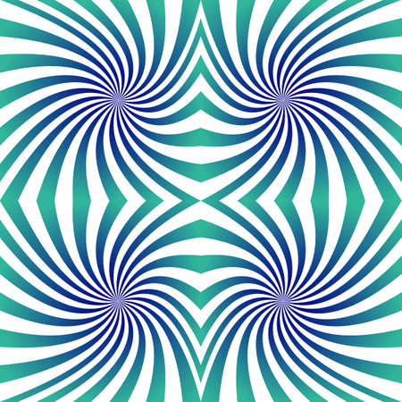 green swirl: Green blue seamless swirl pattern design background