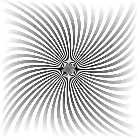Espiral gradiente gris de diseño de vectores de fondo de rayos