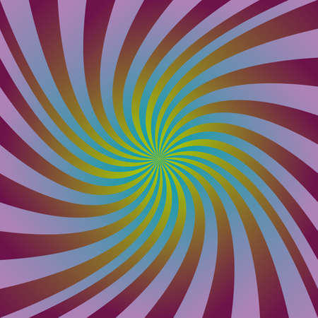 hypnotherapy: Colorful abstract gradient swirl design background vector