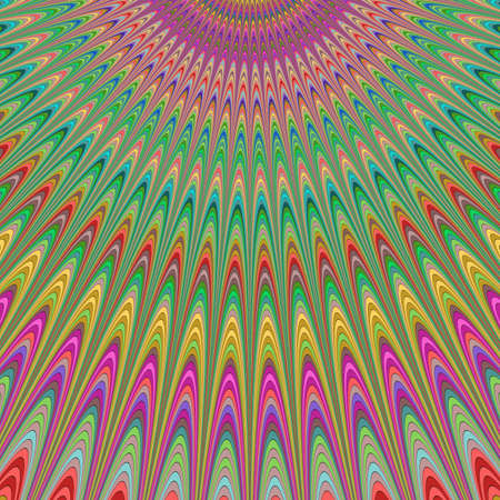 blessing: Blessing from heaven - colorful fractal design background Illustration