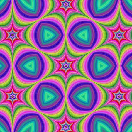 hexa: Colorful happy hexa star background design artwork Illustration