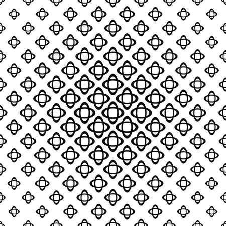 elipse: monocromático abstracto inconsútil elipse doble patrón de fondo Vectores