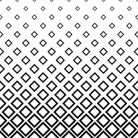 Seamless monochrome square pattern design vector background
