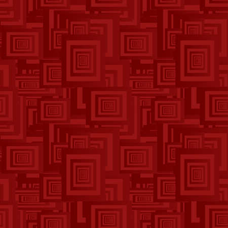 Maroon seamless rectangle pattern design vector background