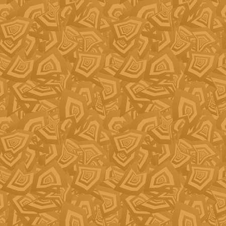 irregular: Bronze color abstract seamless irregular pattern background