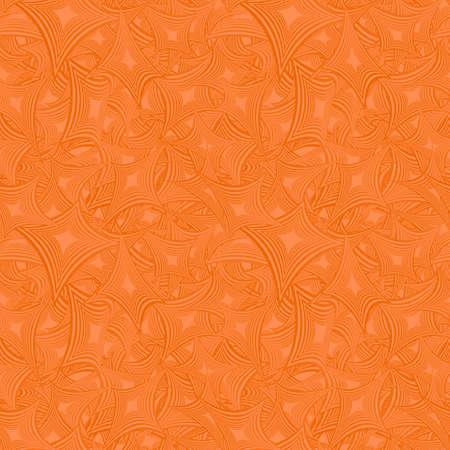 Orange abstraite de couleur seamless fond conception