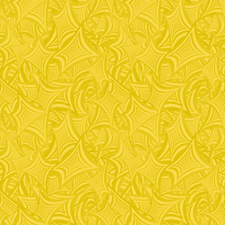 golden color: Golden color abstract seamless vector pattern background