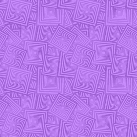 Lavender color abstract seamless square pattern background Illustration