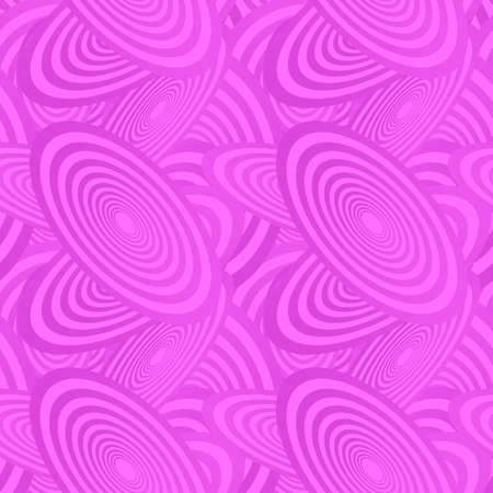 magenta decor: Magenta color abstract seamless ellipse pattern background