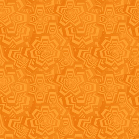 backdrop design: Orange color abstract seamless polygon pattern background