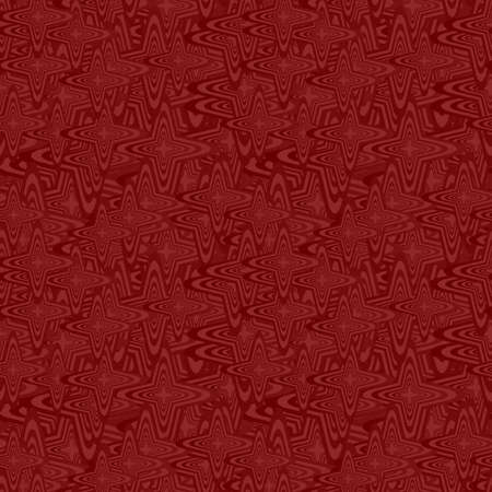 Maroon color abstract seamless curved pattern background Illustration