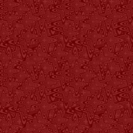 Maroon color abstract seamless curved pattern background Illusztráció