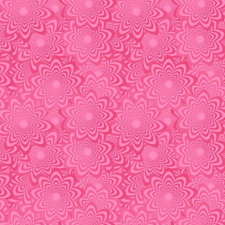 wallpapaer: Pink abstract seamless curved shape pattern background Illustration