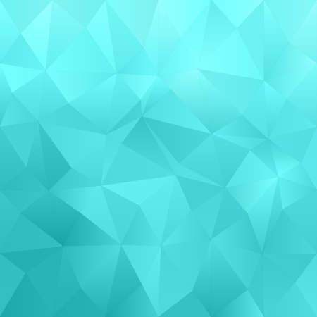 irregular: Cyan abstract irregular triangle pattern design background