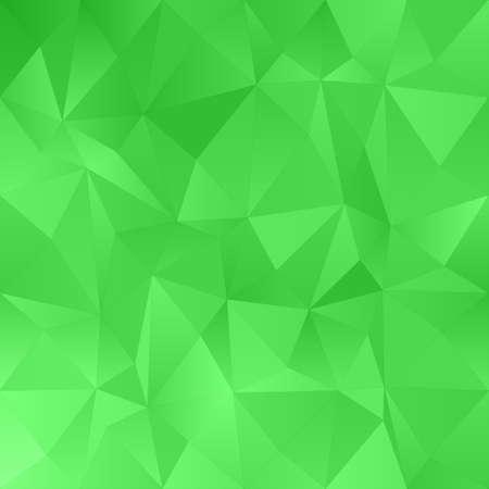 irregular: Green abstract irregular triangle pattern design background