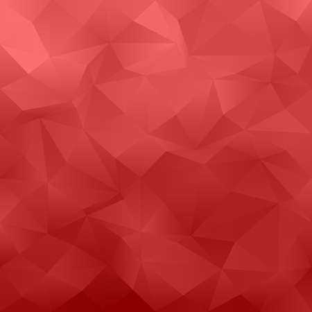 irregular: Red abstract irregular triangle pattern design background