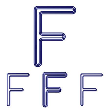 dark blue: Dark blue line f  design set