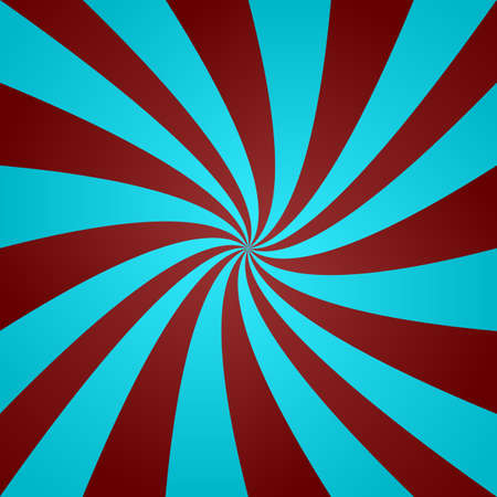 ray light: Light blue and red curved ray design background