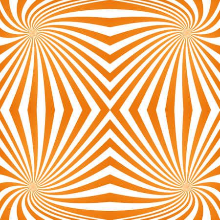 quadrant: Orange computer generated quadrant spiral pattern background