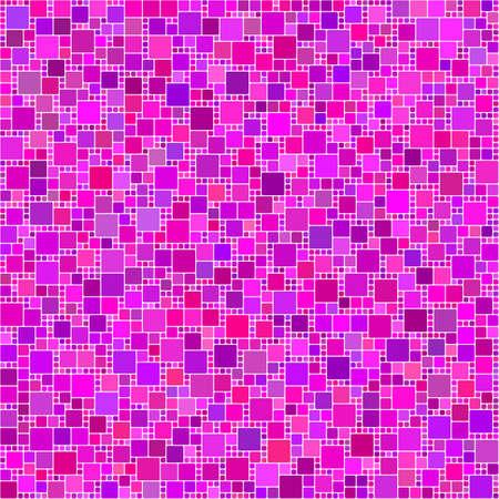 magenta: Purple pink magenta square mosaic design background