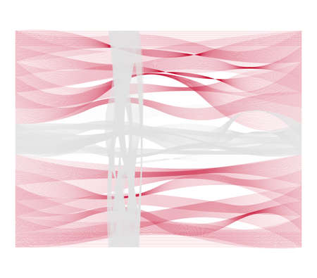 sinus: Wave line flag vector design of Denmark