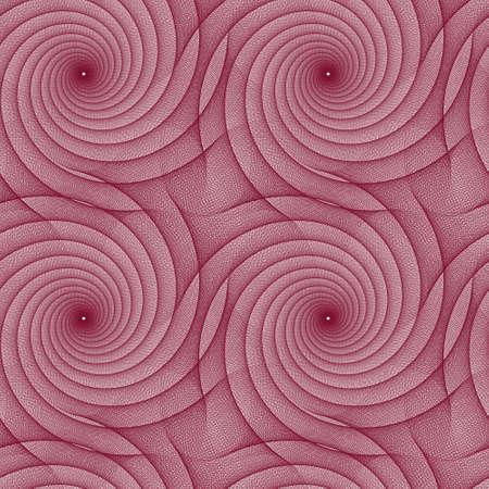 geschwungene linie: Maroon repeating fractal curved line pattern design
