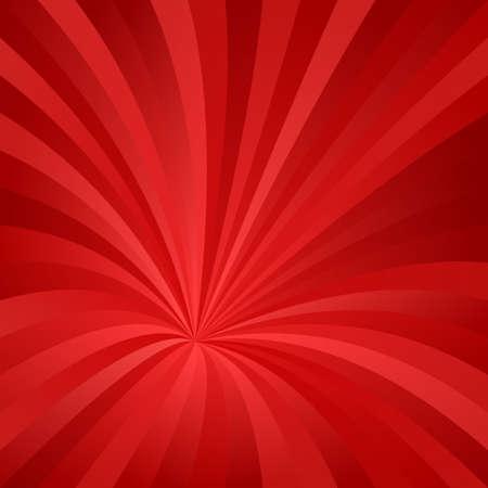 Red abstract asymmetrical vortex design background vector