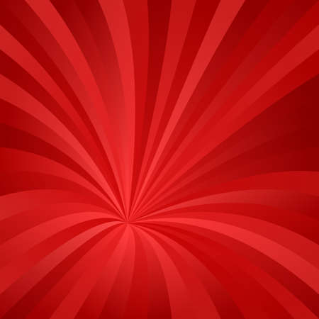 Red abstract asymmetrical vortex design background vector