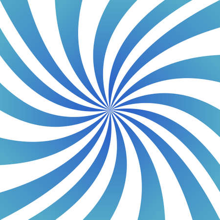 ray light: Light blue abstract spiral ray design background Illustration