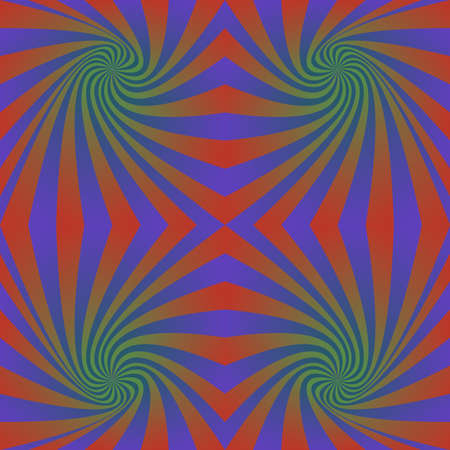 hypnotic: Seamless abstract hypnotic swirl pattern design background