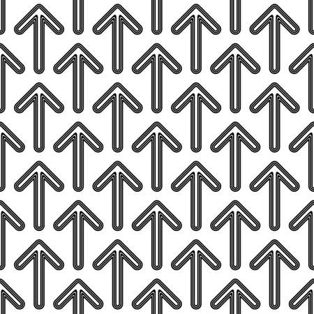 forward arrow: Black white seamless forward arrow pattern background