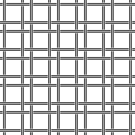ruling: Black and white seamless line pattern design