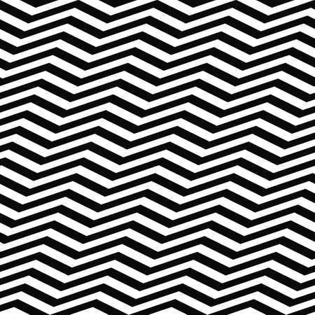 chevron pattern: Seamless black white chevron pattern design background