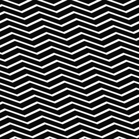 chevron pattern: Abstract seamless black and white chevron pattern Illustration
