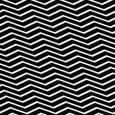 chevron pattern: Abstract seamless black and white chevron pattern Illustration
