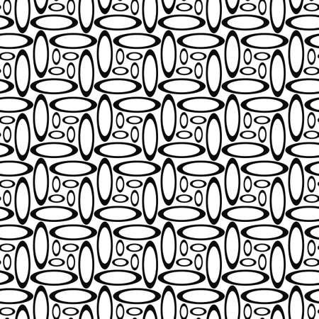 elipse: Monocromo abstracta patrón elipse repetición de diseño de fondo