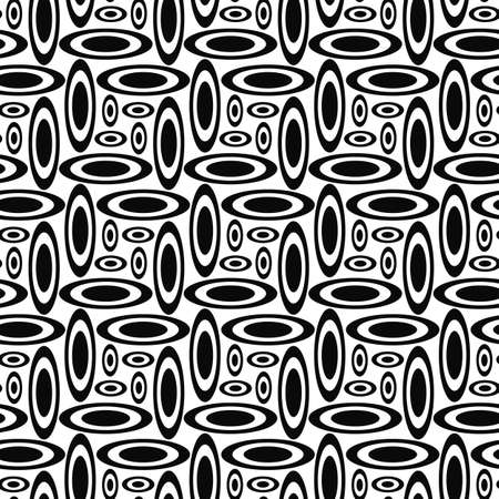 ellipse: Monochrome concentric ellipse repeat pattern design background