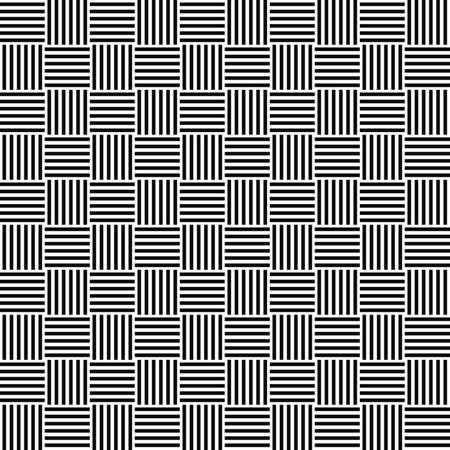 Czarno-biały szwu wzornictwo piętro