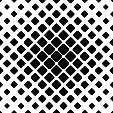 rounded: Seamless monochrome rounded square pattern design background
