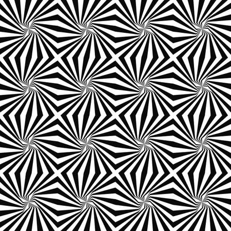 rotated: Monochrome geometrical seamless rotated stripe pattern background Illustration