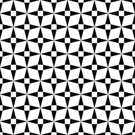 monochromatic: Seamless monochromatic triangle pattern design vector background