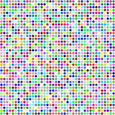 digital background: Multicolor circle pixel mosaic digital background design