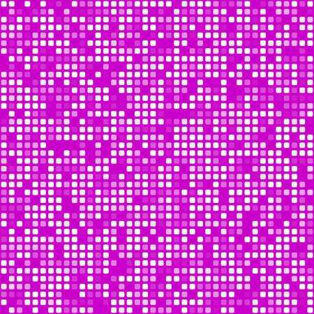Digital magenta square pixel mosaic background design