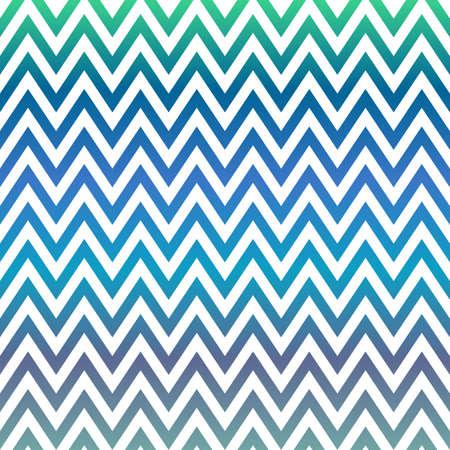blue green background: Blue and green chevron pattern design background Illustration