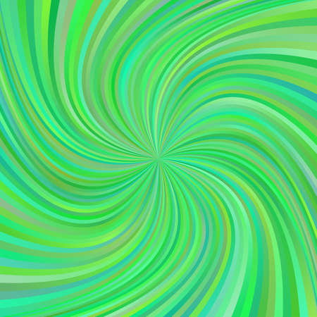 turmoil: Green abstract multicolored spiral ray design background
