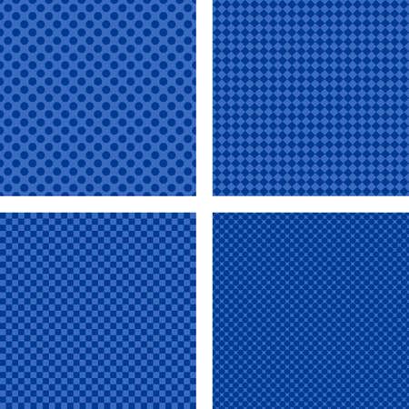 Abstracto azul de rayas conjunto patrón de fondo simple Foto de archivo - 48703668